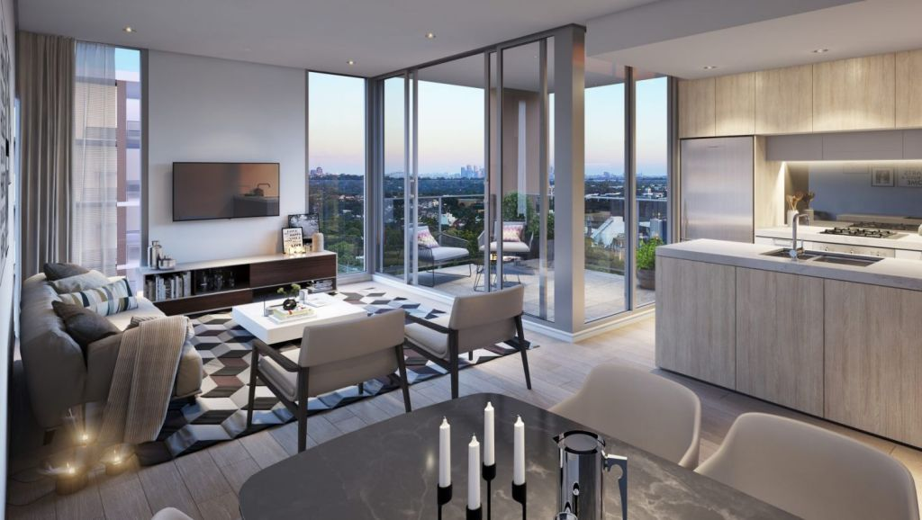 First-home buyers will be eligible for a 5 per cent deposit for Centrale. (Artist's impression) Photo: Supplied