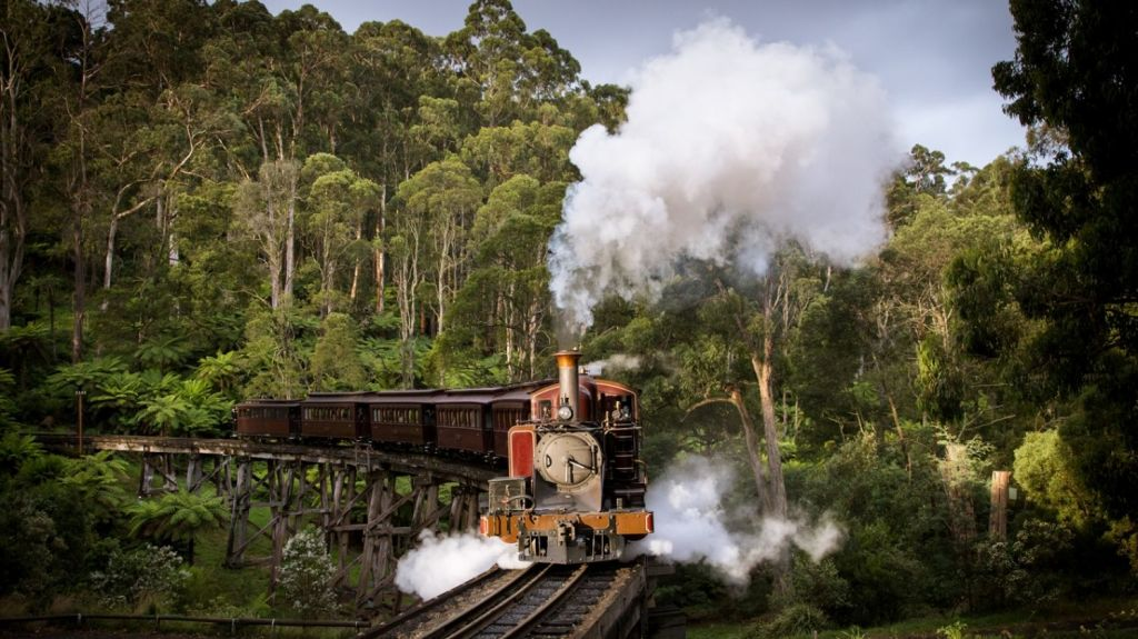 Gembrook is well-known for Puffing Billy, but these days, there's more to this township. Photo: Michael Greenhill