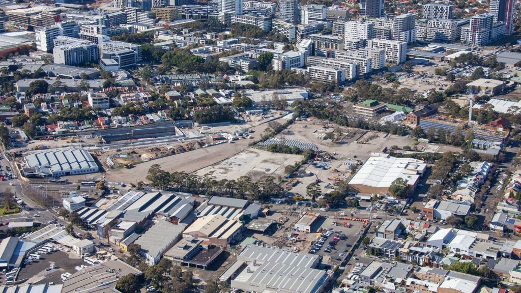 Green square already looks very different from how it did in 2015. Photo: Supplied