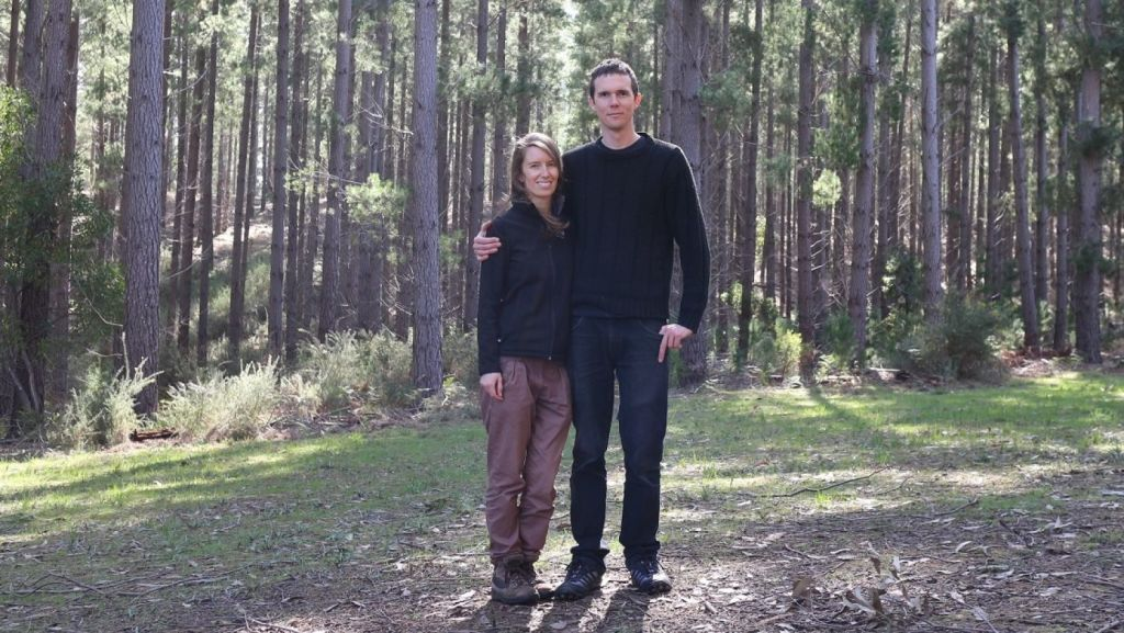 When Dani Austin and Sam Ryan move into their straw house in a couple of months it will be with a great sense of satisfaction and accomplishment. Photo: Supplied