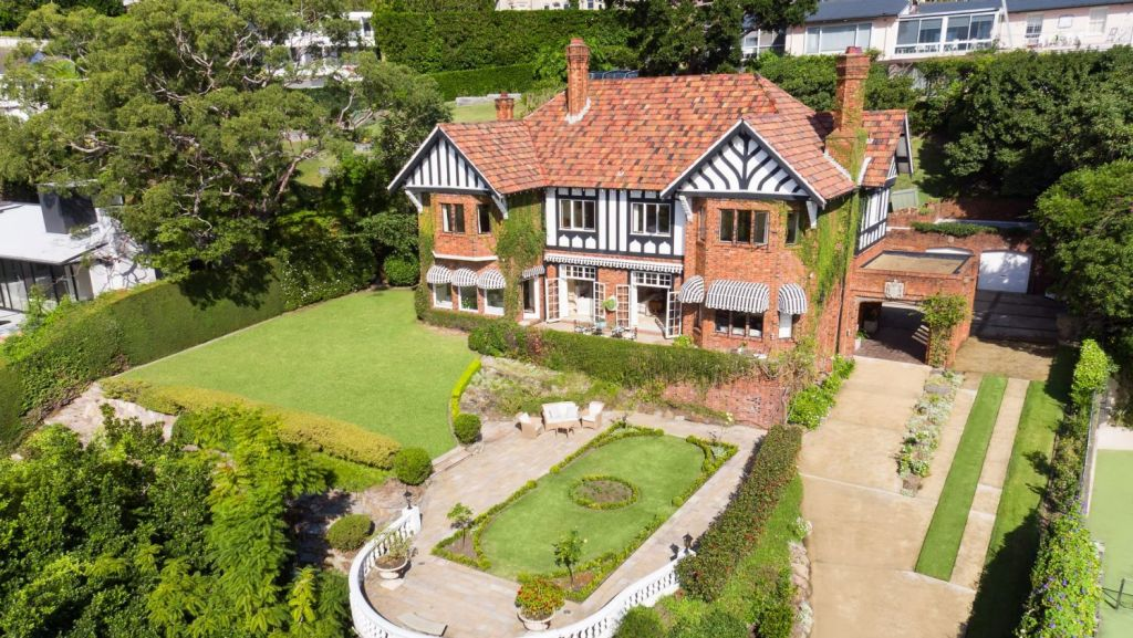 The Bellevue Hill mansion known as Bonnington is on the market for the first time since 1961. Photo: Supplied