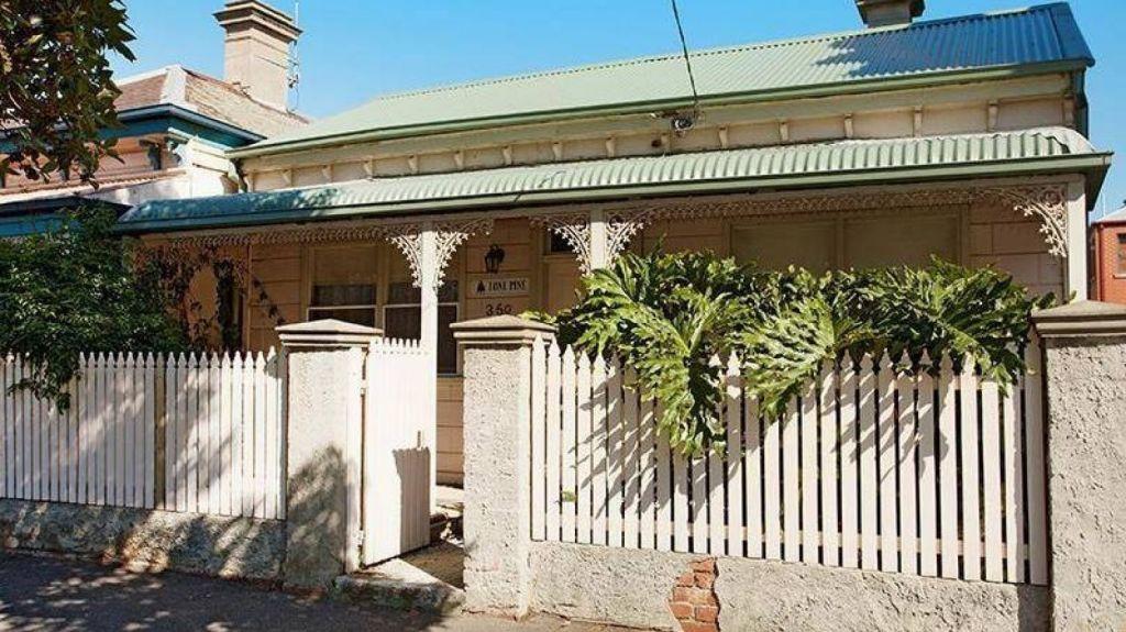 Then: Soren Reichert's former home in South Melbourne. Photo: Supplied