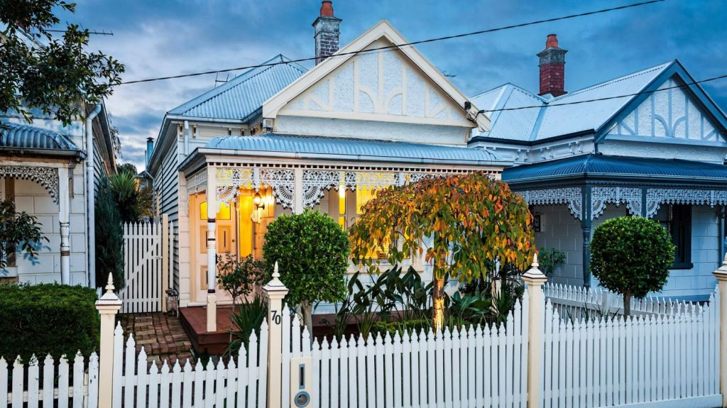 Affordable period-style homes in Footscray allow people to get into the property market for the first time. Photo: Supplied