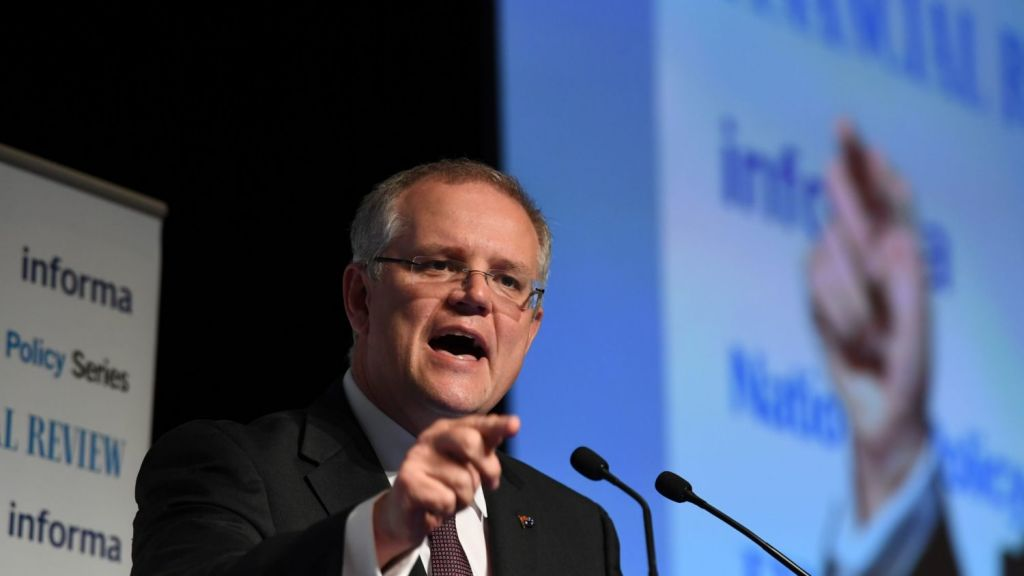 Scott Morrison has previously encouraged cashed-up superannuation funds to consider providing build-to-rent housing. Photo: Louise Kennerley