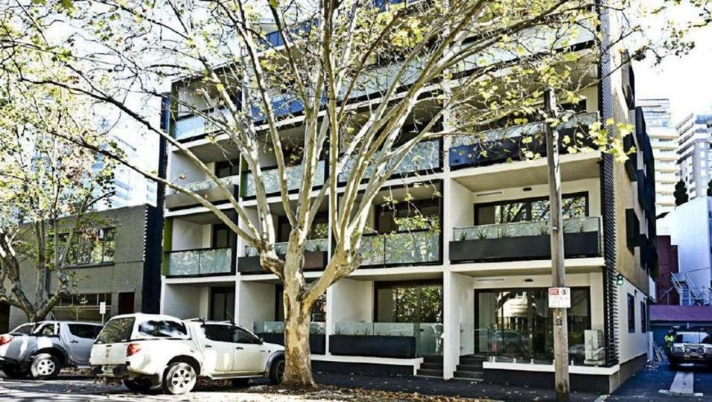 One of Beller Property Group's build to rent project in South Yarra. Photo: Supplied
