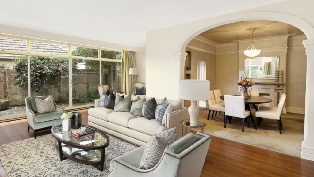 60 Newcastle Street, Rose Bay, sold for $6,000,000 on Saturday.