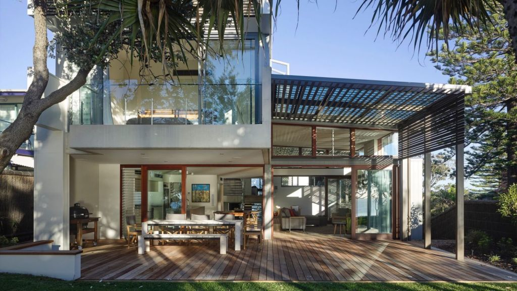 This Currimundi Beach House by Conrad Gargett received a regional commendation. Photo: Supplied