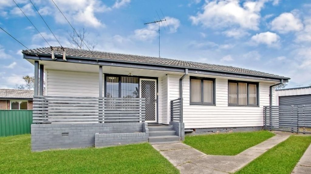 This three-bedroom home on Willmot's Captain Cook Drive sold for the suburb's median house price of $440,000. Photo: Supplied.