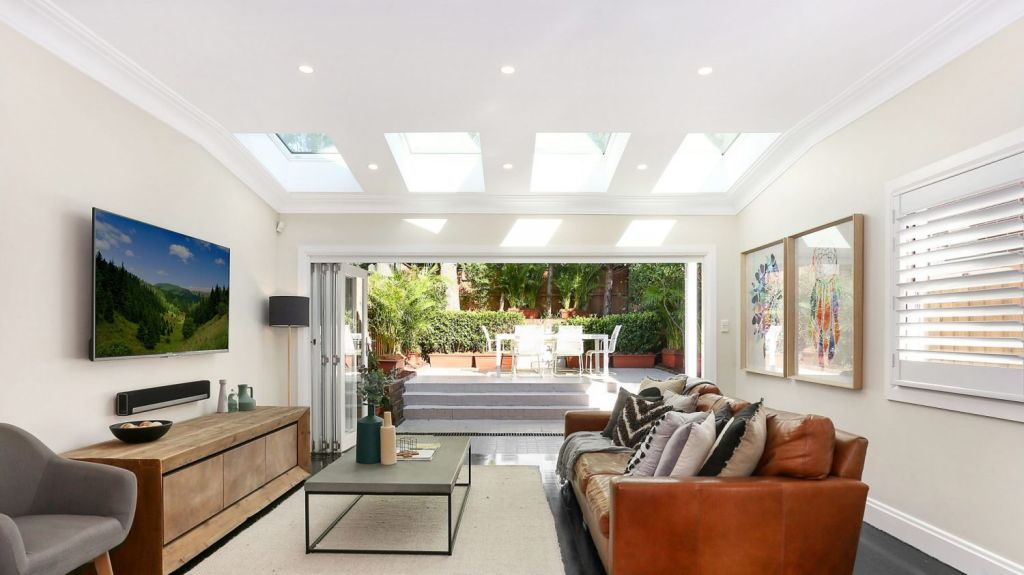 88A Awaba Street, Mosman: Outdoor spaces connected to the main living room are highly valued. Photo: Supplied