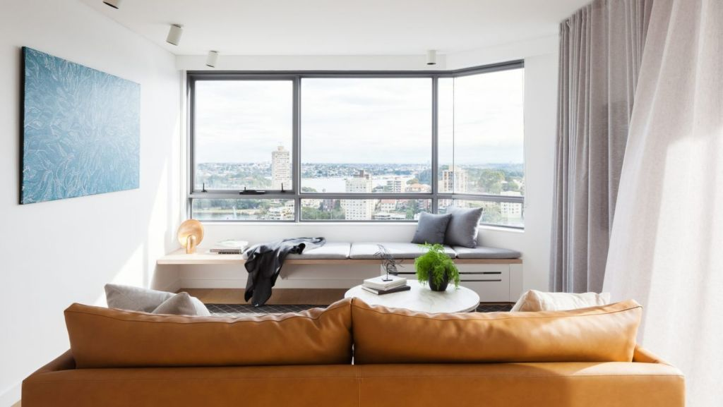 The Milsons Point apartment by Brad Swartz Architects. Photo: Katherine Lu