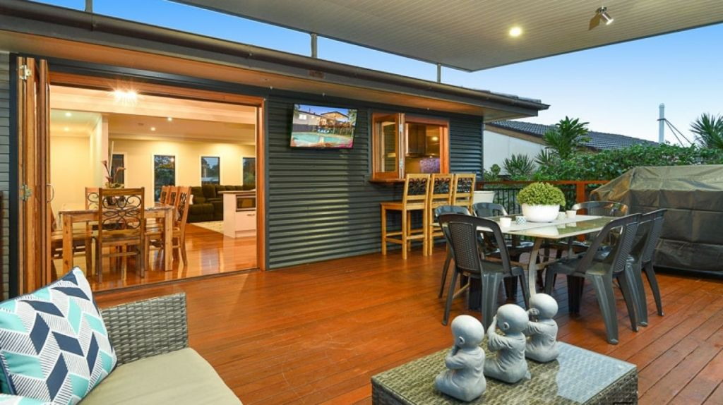 The deck of 7 Currajon Street in Brendale, one of Innov8's recent sales. Photo: Supplied