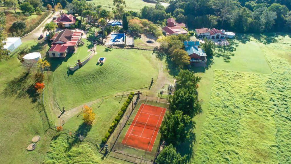 Flamboyant property developer Albert Bertini developed the 15-hectare property into a private adventure park. Photo: supplied