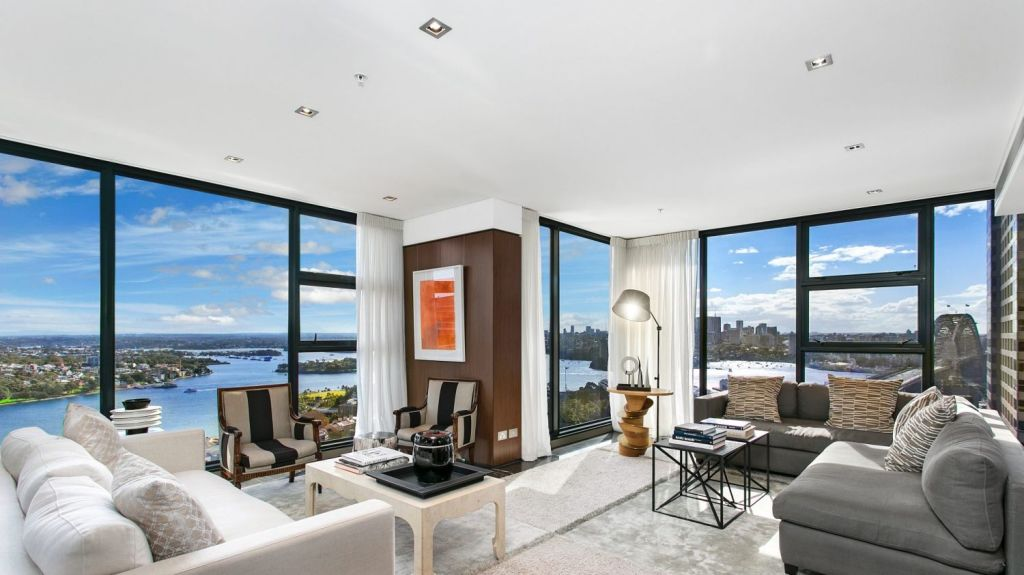 The penthouse was bought for Zhang shortly before she wed Richard Liu in Sydney in 2015. Photo: Supplied