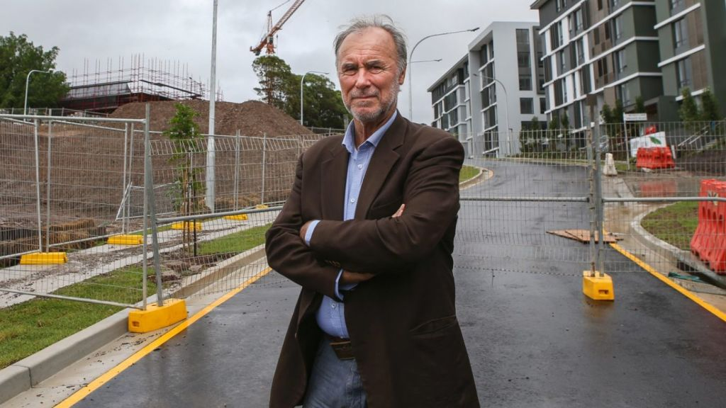 Liberal MP John Alexander has swapped his family home in Putney for Moss Vale. Photo: Katherine Griffiths
