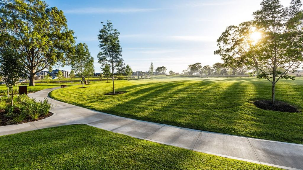 Several pocket parks at The Hermitage will be constructed on former golf greens. Photo: Graham Jepson
