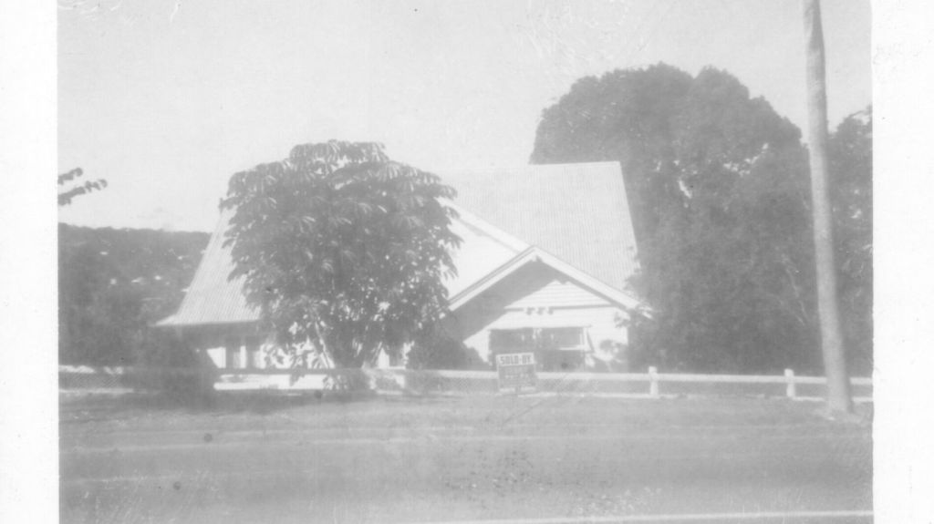 428 Cavendish Road, Coorparoo in 1974, before the renovations. Photo: Supplied