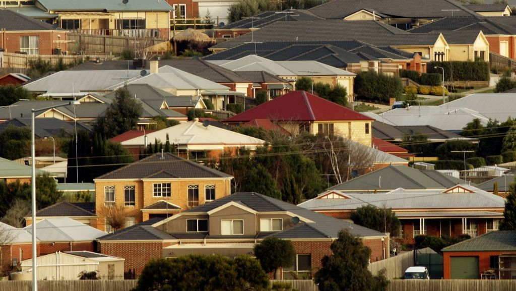 Actually owning a home is considered something for the wealthy, according to 63 per cent of Australians surveyed. Photo: Paul Rovere