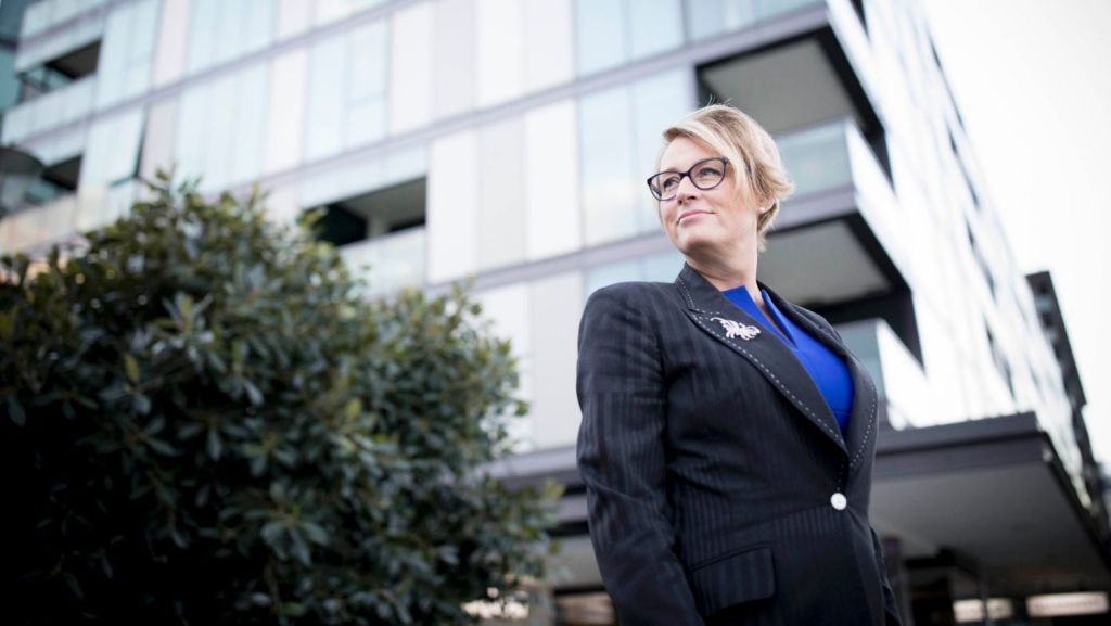 Property Council Victoria director Sally Capp: Doesn't drink coffee but is a real Melburnian. Photo: Arsineh Houspian