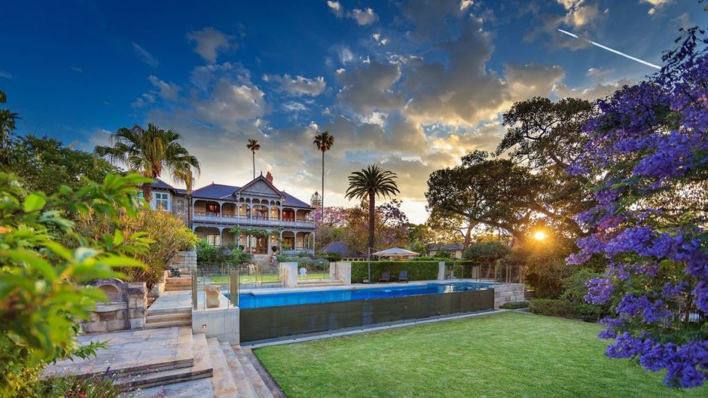 Built in 1892, historic Woolwich home Vailele is best known for starring in the 1983 mini-series Return to Eden. The house sold this month for around $23 million. Photo: Supplied