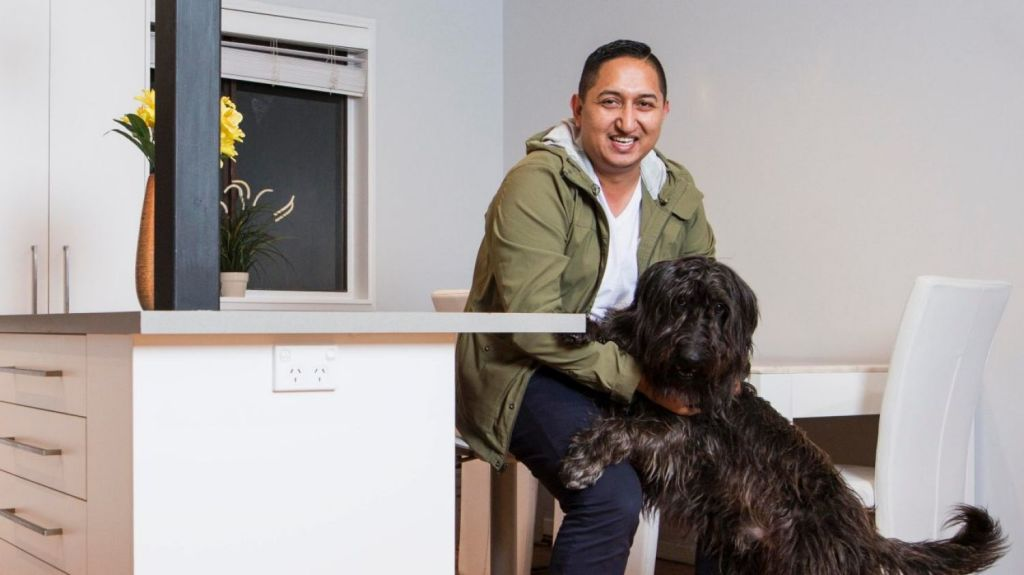 Bhugol Kansakar expects he will get more interest for his Quakers Hill home from July 1 onwards. Photo: Dominic Lorrimer