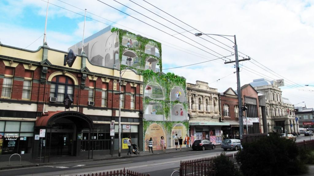 One of the proposed Nightingale projects in Brunswick, Melbourne, which had waiting lists as long as 800 people. Photo: Austin Maynard Architects