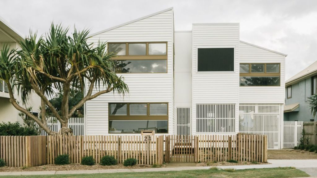 Happy Haus specialises in prefabricated homes such as this one at Lennox Head. Photo: Willis Lim