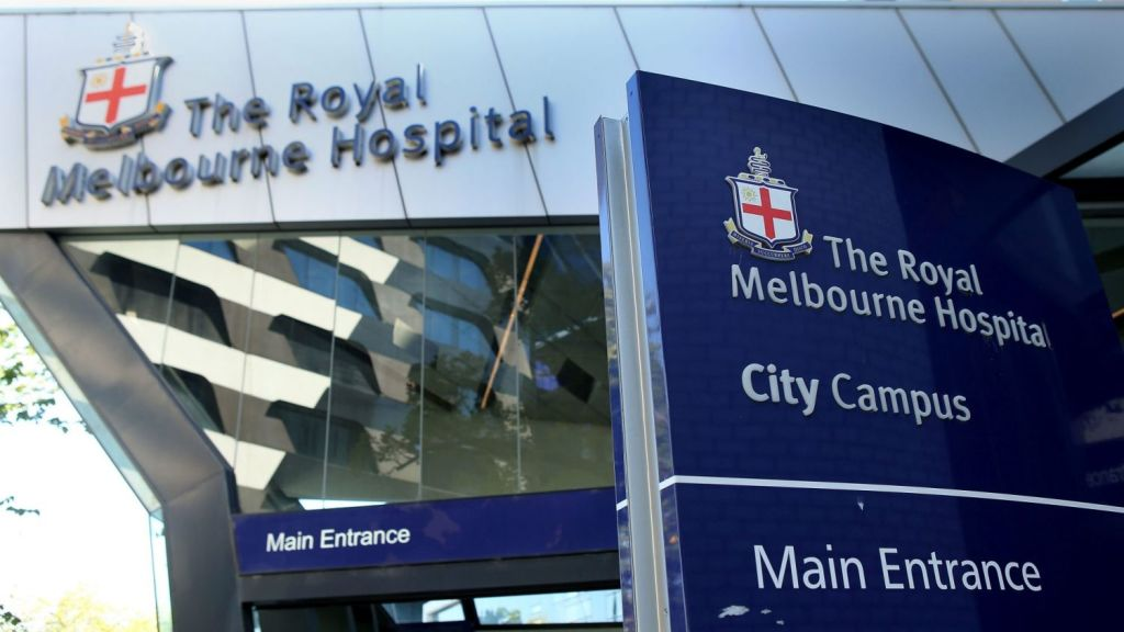 The Royal Melbourne hospital, the Royal Children's hospital and the Royal Women's Hospital form one of Melbourne's major medical hubs. Photo: Pat Scala