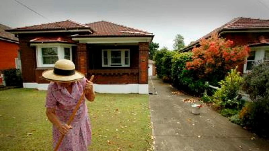 Owning a home is seen as largely cost-neutral, though the costs of maintaining housing are recognised in some documents. Photo: P Bottrell