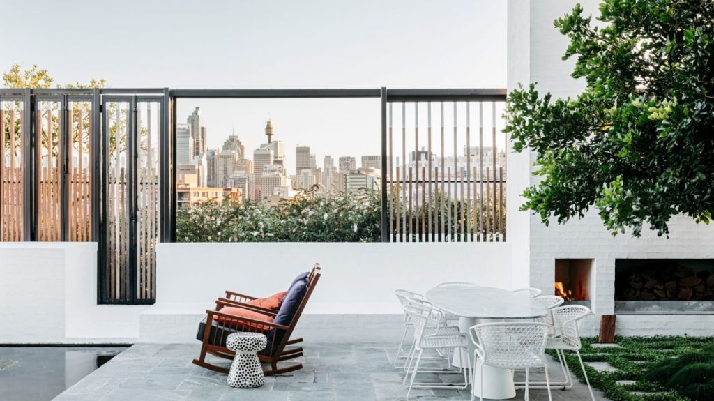 While it's an apartment, Cleveland Rooftop by SJB, has been shortlisted in the complete house category. Photo: Felix Forest.