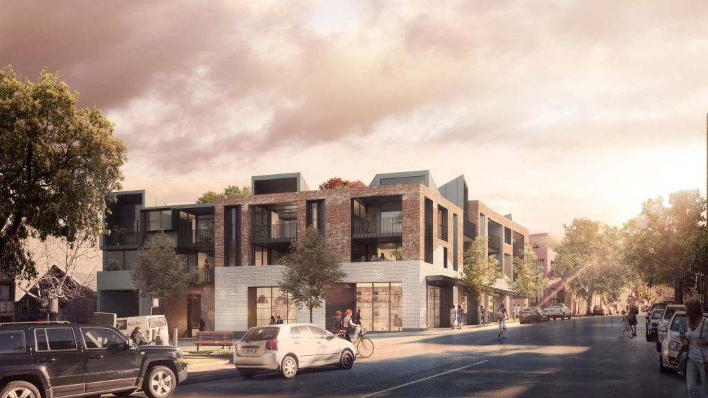 MHN Design Union's Heritage Traces in Surry Hills have been shortlisted for the Residential Future Projects category. Photo: Supplied.