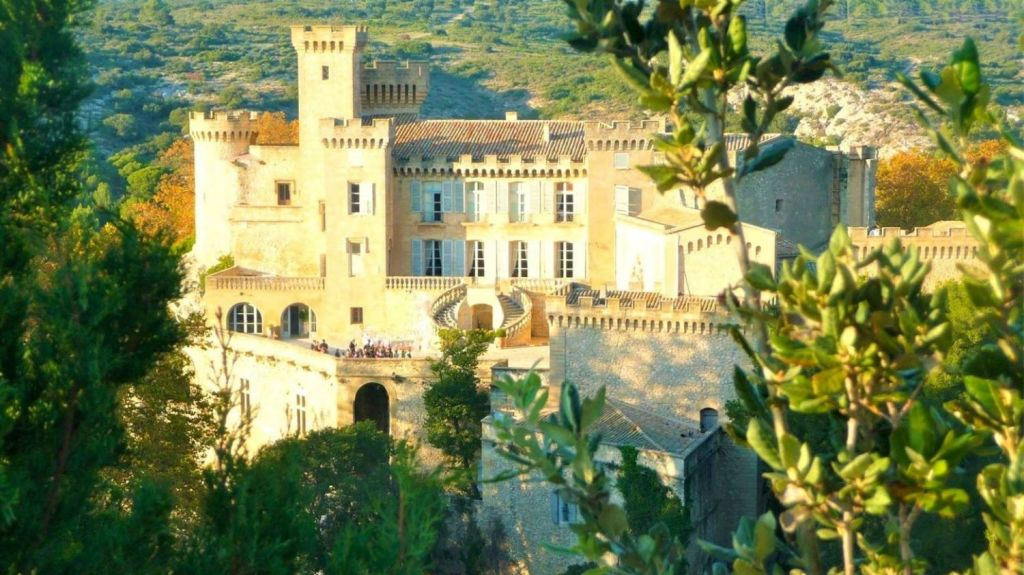 Chateau de la Barben in France. Photo: Sotheby's International Realty
