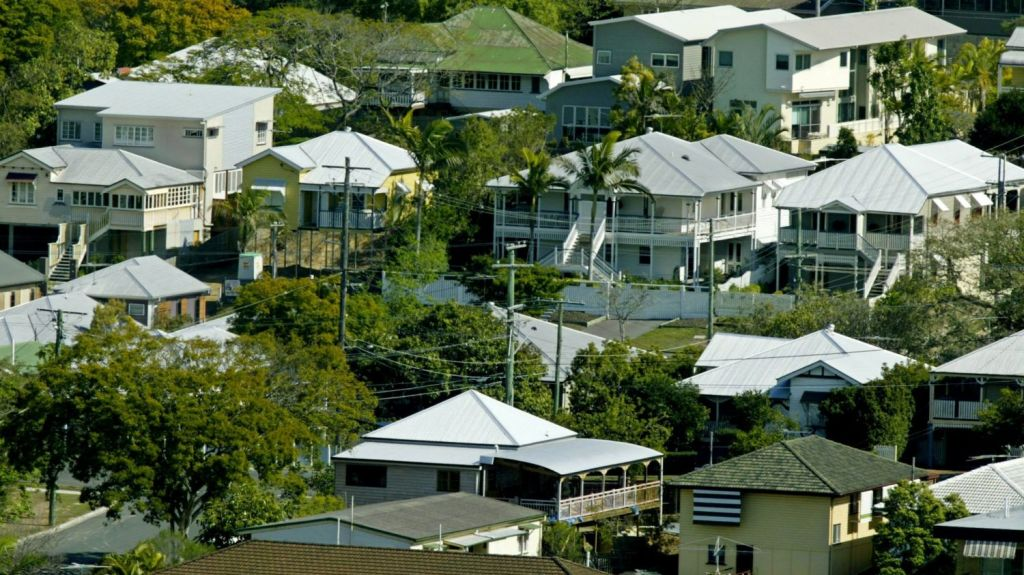 At 3.1 per cent annual house price growth is still positive - but this is the slowest growth rate recorded since 2013. Photo: Glenn Hunt