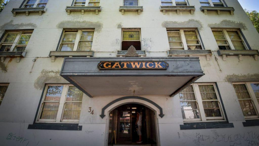 The Gatwick Hotel has a prime location on Fitzroy Street, St Kilda. Photo: Eddie Jim