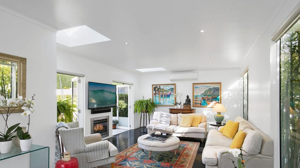 Feng Shui master Jodi Brunner says having a view to the outside is also important. Windows line the walls of 80 Douglas Street to allow this connection with the outdoors. Photo: Mitch Cameron Photography