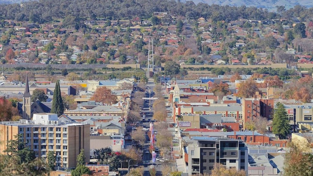 Albury's median house price fell 4.3 per cent over the year, while Wodonga increased 1.6 per cent. Photo: Supplied