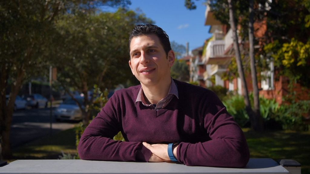Christopher Melotti bought an investment property in Wollongong two years ago and watched prices soar in the region. Photo: Kate Geraghty