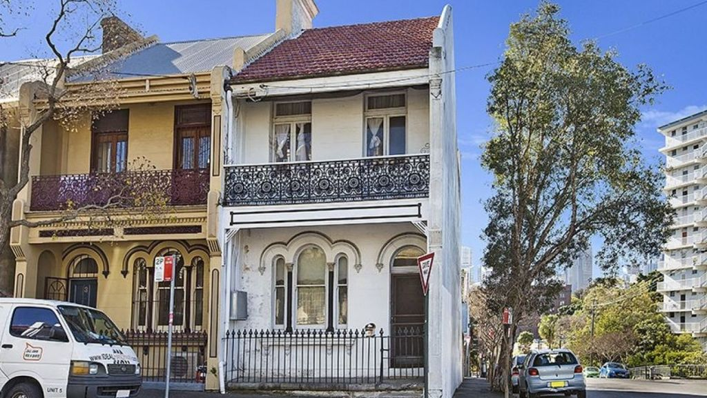 A three-bedroom terrace at 1 Darghan Street, Glebe, sold for $1,666,000. Photo: Supplied.