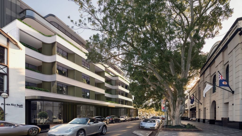 1788 by SJD Group is a new development coming to Double Bay. Photo: Artist's impression