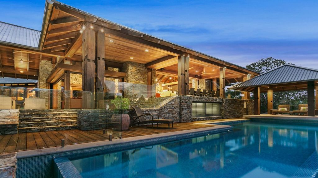 The Timothy Moon-designed property took three years and $8 million to build. Photo: Supplied