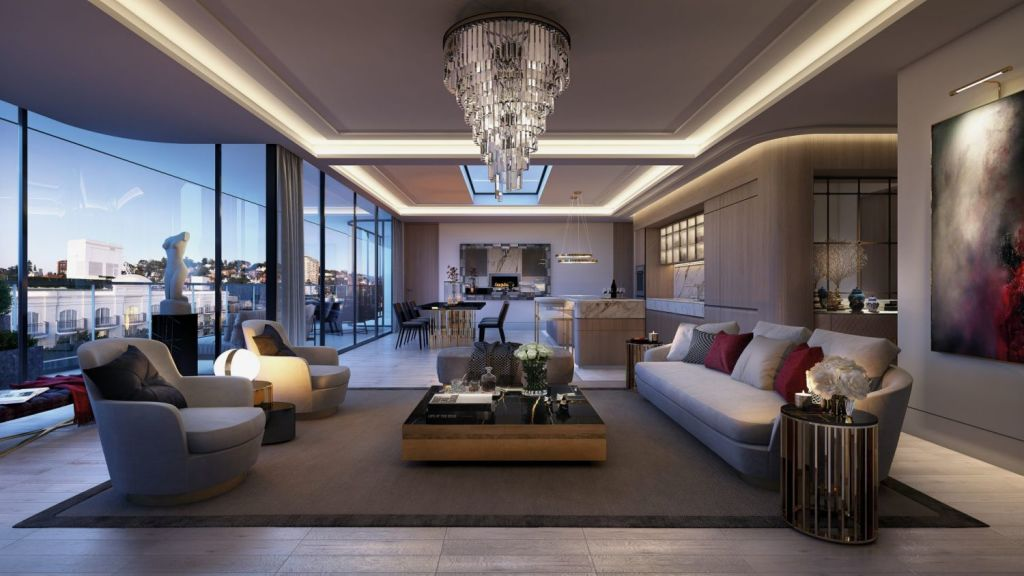 1788 Residences is a $100 million project in Double Bay from developer SJD Property. Photo: Artist's impression