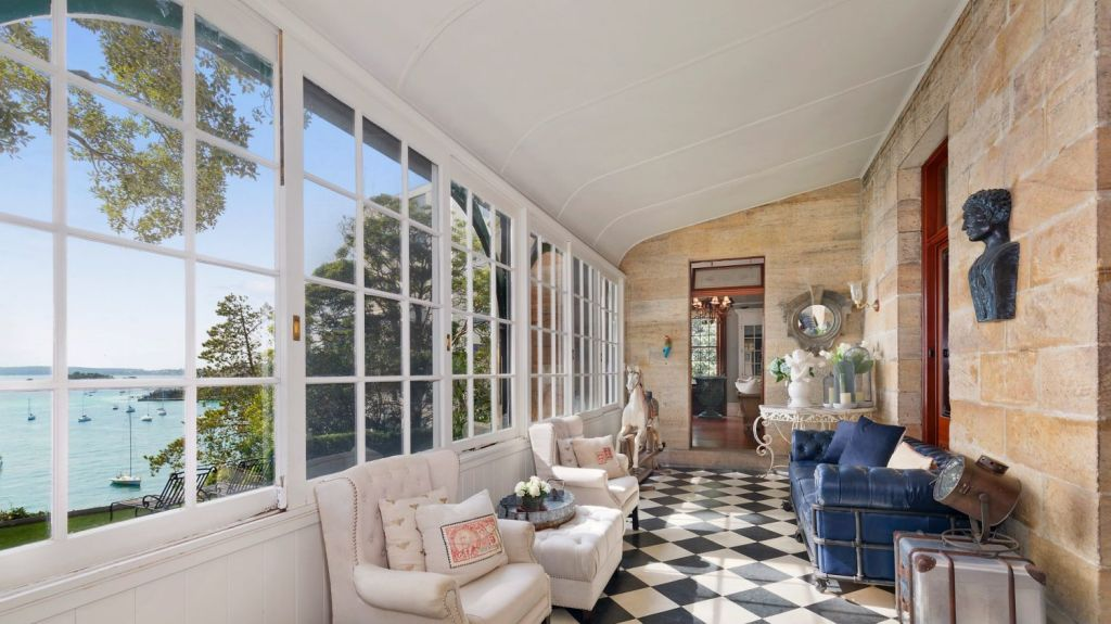 The mansion is currently owned by Janette Waterhouse, wife of former art collector and options trader David Waterhouse. Photo: Supplied
