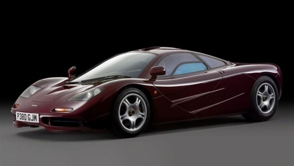 A car virtually identical to Rowan Atkinson's McLaren F1 is in the process of being sold for more than $20 million.