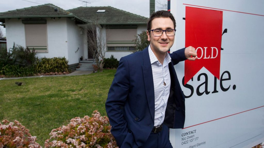 Dean Munro is a multiple property investor, with a family-owned portfolio he estimates is worth more than $2 million, and he's still able to claim the stamp duty exemption on his newly bought first-home. Photo: Paul Jeffers