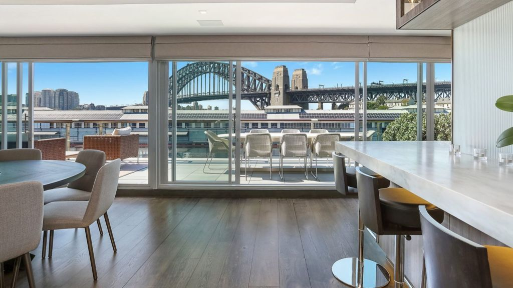 Ryan Stokes bought his three-bedroom Walsh Bay spread as a first-home buyer in 2000. Photo: Supplied