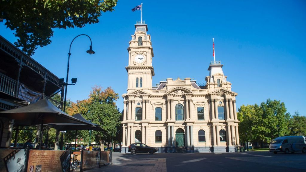 What these towns lack in size, they make up for in wow factor. Bull Street in Bendigo. Photo: Darren Howe