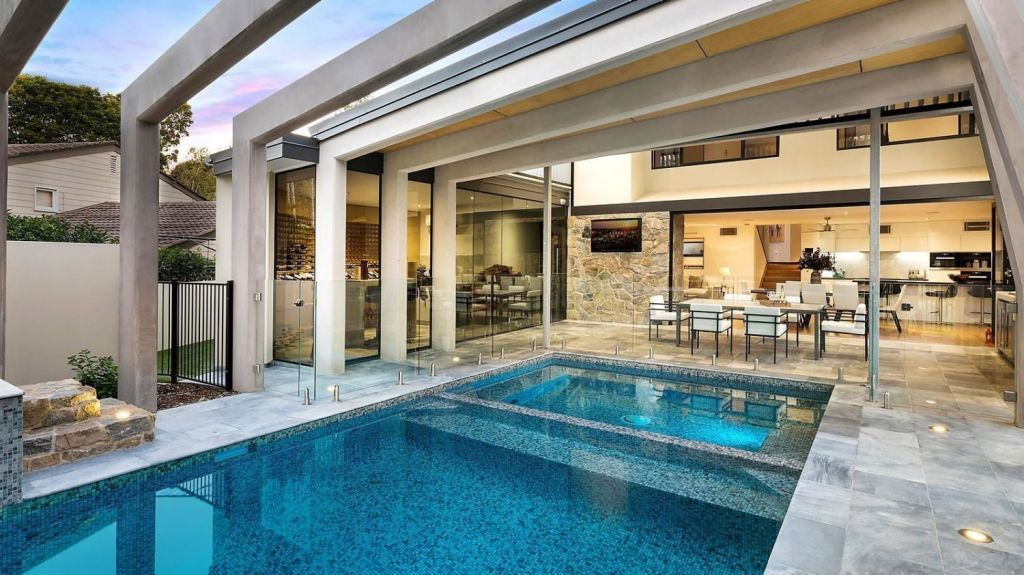 Jaw-dropping contemporary design at 57 Castile Street, Indooroopilly. Photo: McGrath Paddington