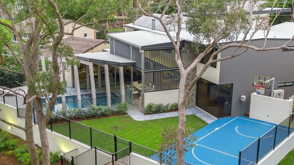 The property at 57 Castile Street, Indooroopilly is on a north-to-rear facing block fronting the St Lucia Golf Links. Photo: McGrath Paddington