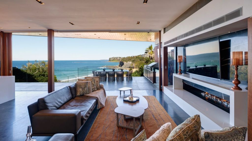 Lou Zivanovic is listing his property on Bilgola Beach for $10.5 million. Photo: Supplied