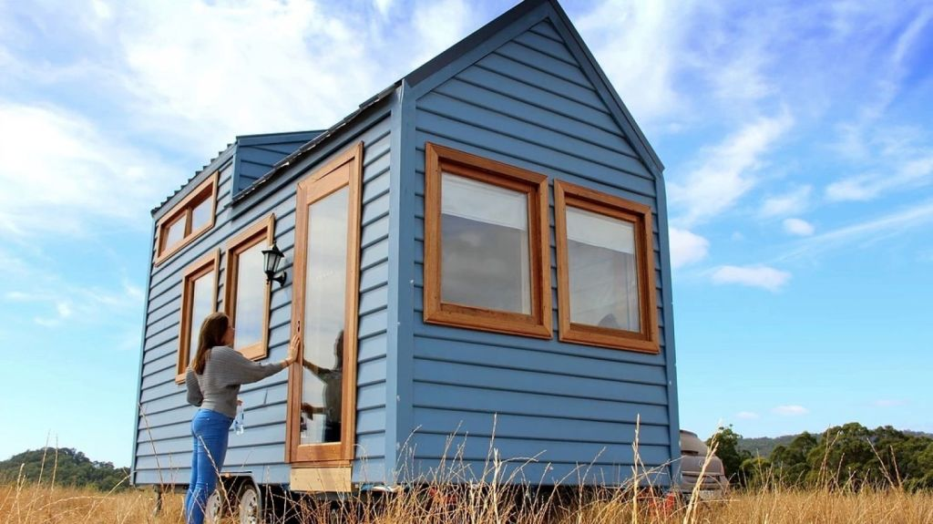A display village of tiny houses could arrive in Melbourne within a few months. Photo: Kylie Bell / Wagonhaus