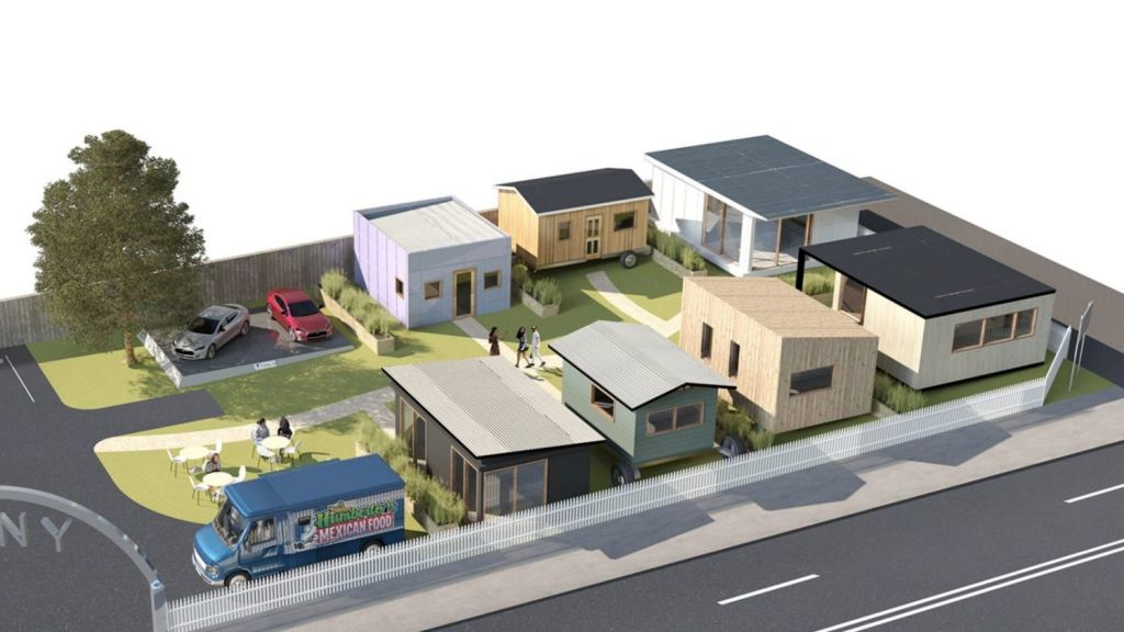 Tiny House Village, a display of small houses available to the public, has been slated for a South Yarra site. Photo: Tiny House Village.